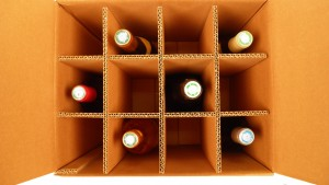 Emballage bouteille en carton